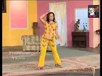 drama actress in dancing step