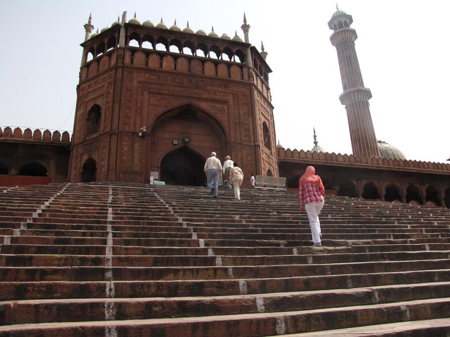 India, Delhi - Mezquita Jama Masjid