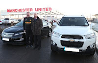 Sir Alex Ferguson si Chevrolet Volt
