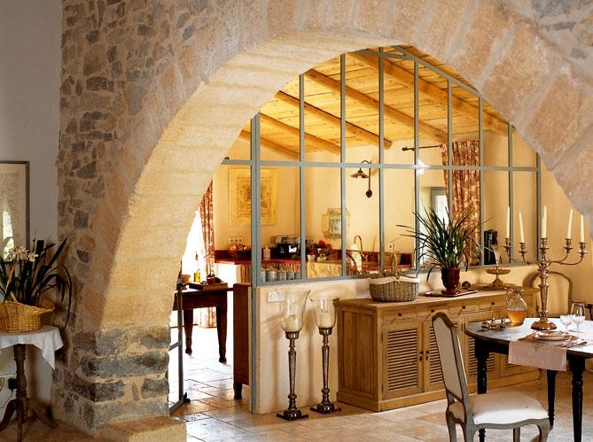 Estilo rustico casa rustica en francia - Interiores casas rusticas ...