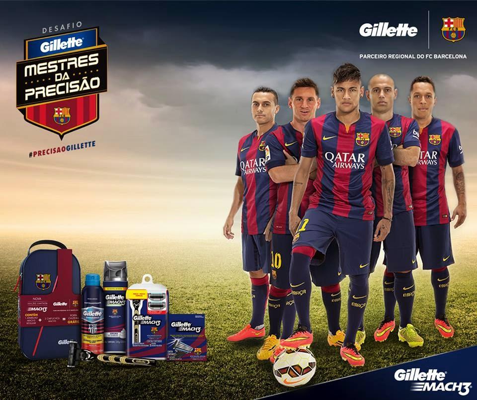 """Promoção """"Mestres da Precisão"""" - Gillette Barcelona"""