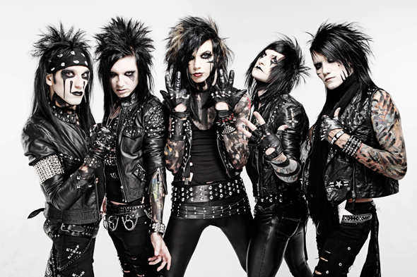 black bvb wristband