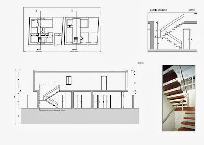 Plano secci n 1 arquitectura la salle for Planos de arquitectura pdf