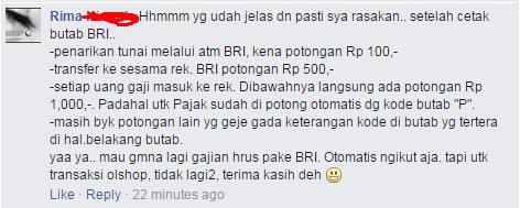 Percakapan netizen
