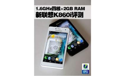 Lenovo K860i - Spesifikasi Ponsel Android Ice Cream Sandwich Quad Core RAM 2 GB - Berita Handphone