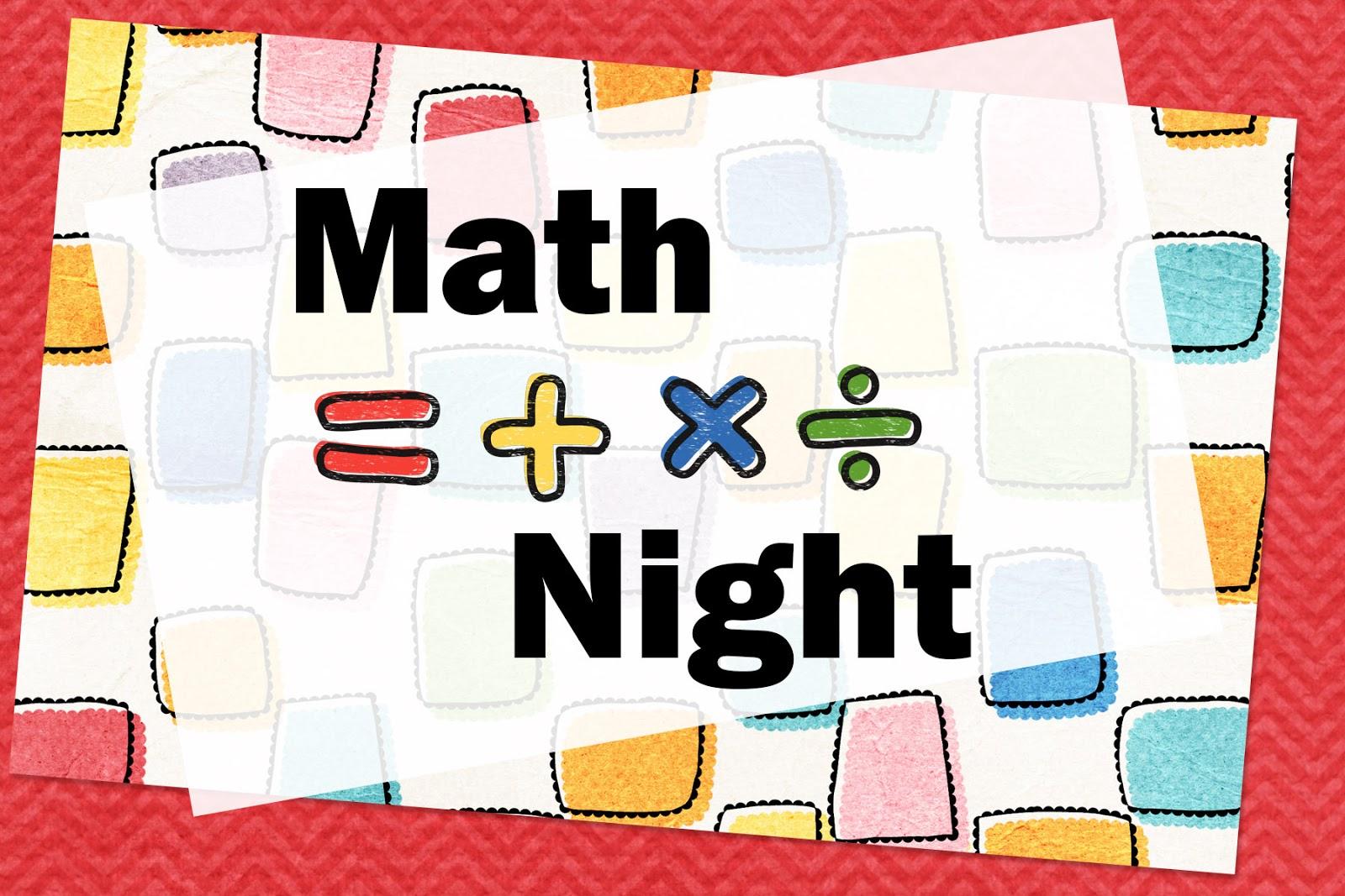 Brookshire Annual Family Math Night Brookshire