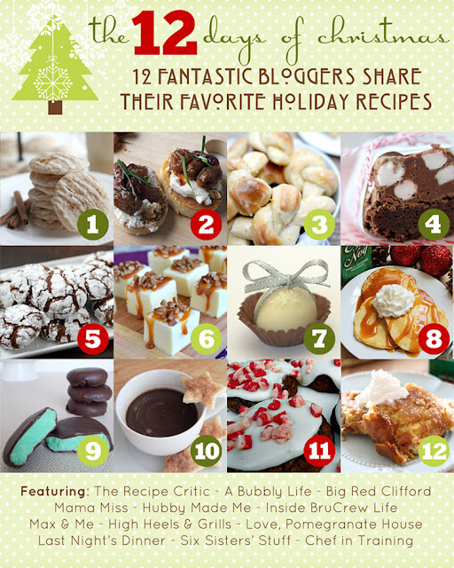 The 12 Days of Christmas Recipes