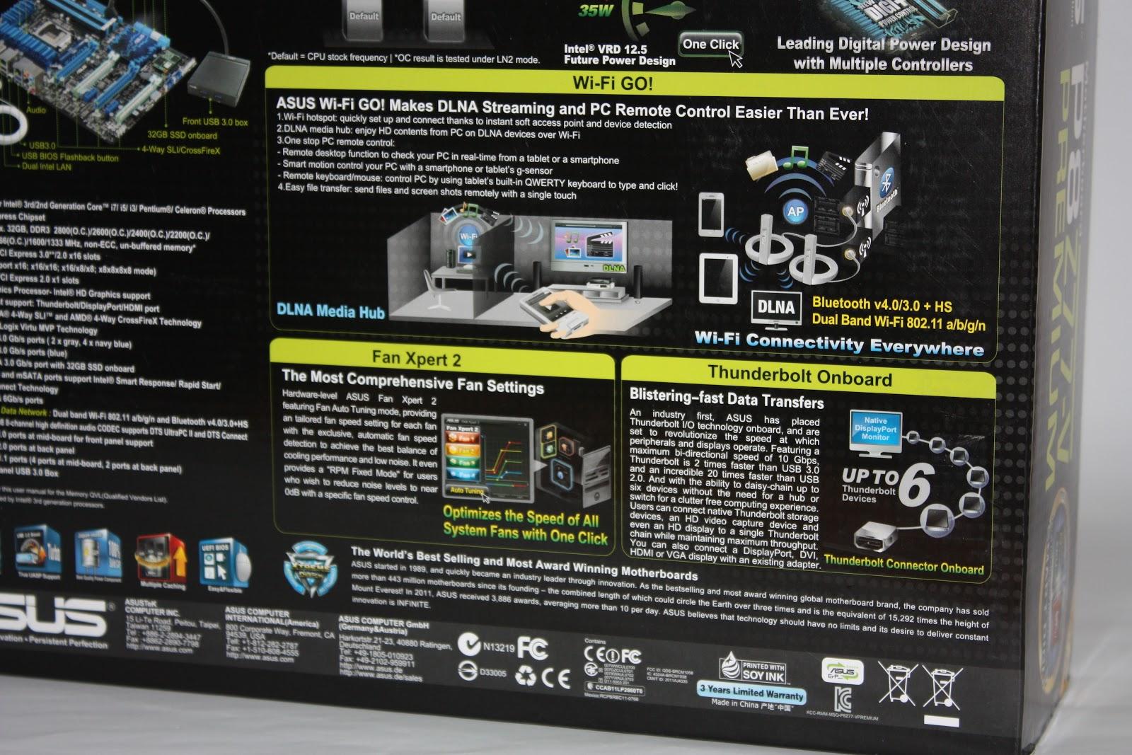 Asus P8z77 V Premium Motherboard Review The Tech Revolutionist Multi Core X8 4x Super Fans Upto 17 Deepcool Notebook Cooler Features