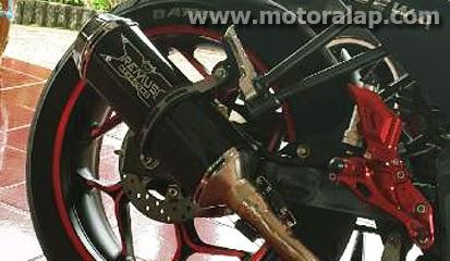 Knalpot Racing Remus Hexacone Yamaha Vixion Paling Ngebass
