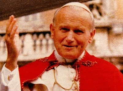 Papstbesuch in Viterbo 1994