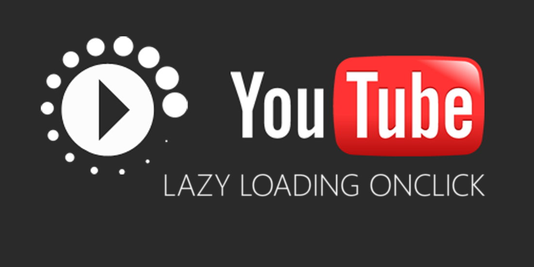 Responsive Youtube Video With Lazy Loading OnClick