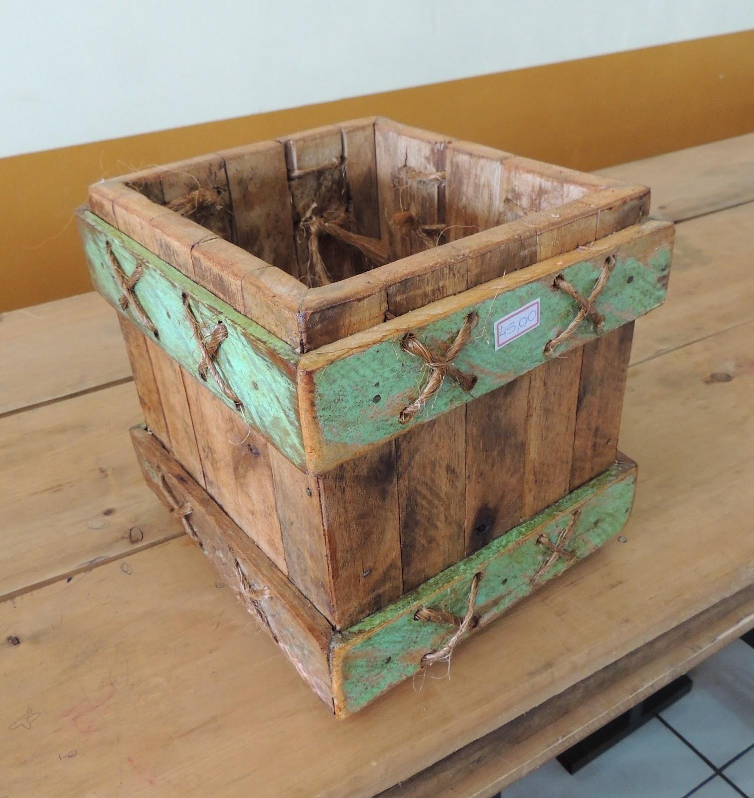 Artesanato Lata De Leite Em Pó ~ cativa artesanato Moveis de madeira de demoliç u00e3o
