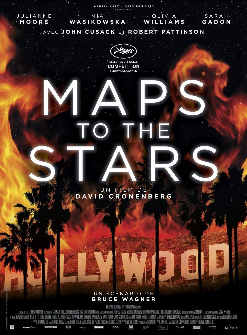 Maps to the Stars (2014) movie poster