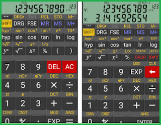 RealCalC Scientific Calculator - Aplikasi kalkulator android