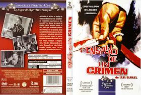 Carátulas de Ensayo de un crimen DVD 1