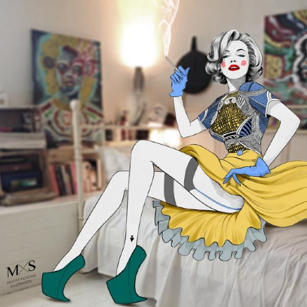 Smashing Fashion Illustrations