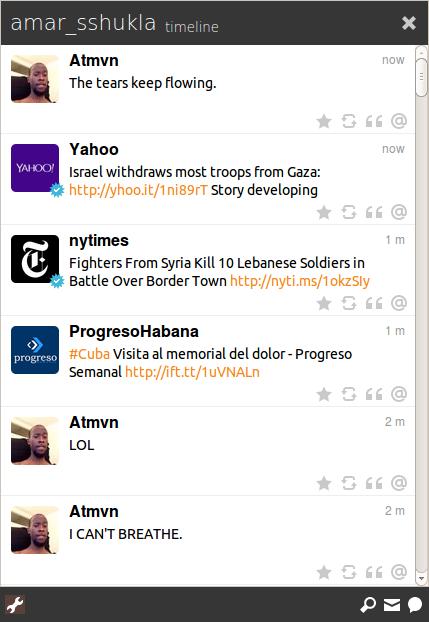 twitter client for Ubuntu Turpial
