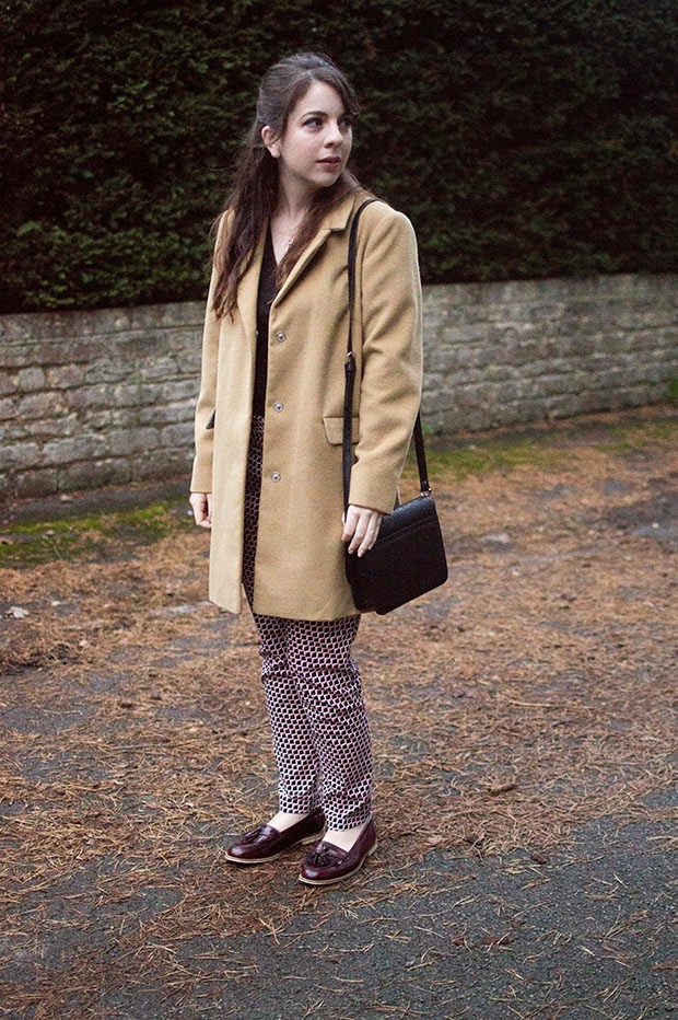 HOW TO WEAR TOPSHOP CAMEL COAT