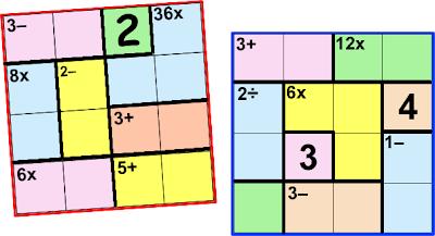 Ken Ken, Kenken, Variante del Sudoku