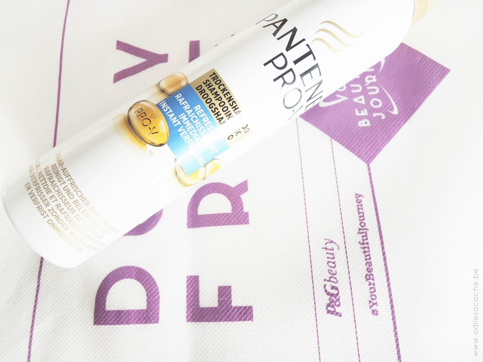 shampoing sec pantene pro v