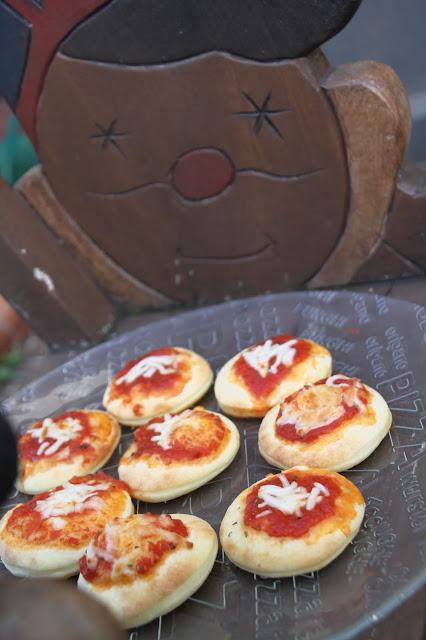 pizzette di pan brioche