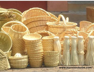 Cestería Artesanal también presente en el Tianguis de Alfarería de Pátzcuaro