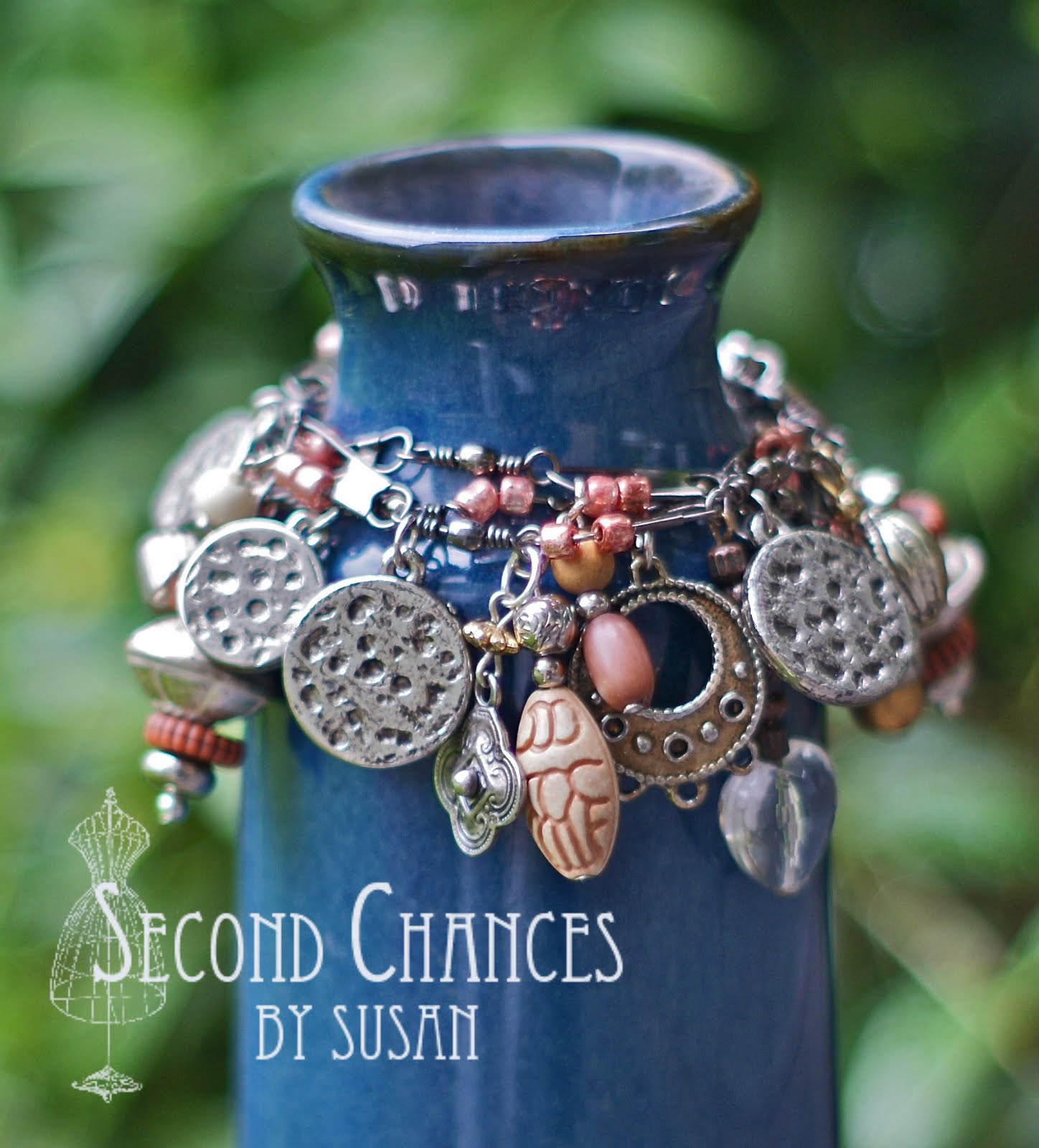 Second Chances By Susan Fishing Swivel Charm Bracelet