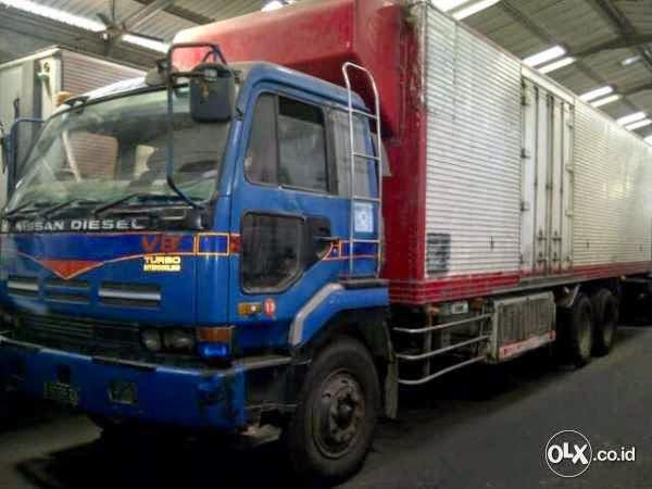 Truk Nissan Cd 510 Vn Box Freezer