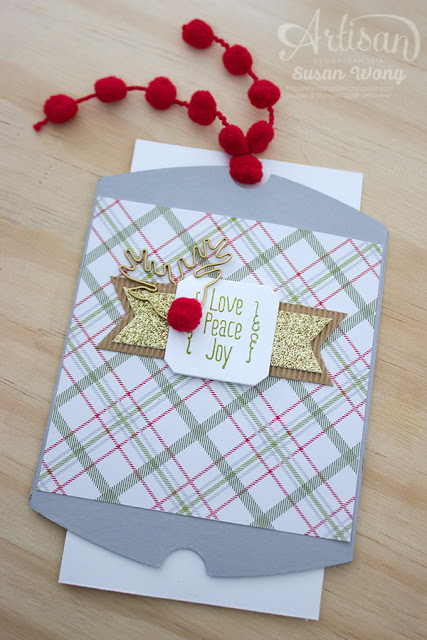A Little Something + Pillow Box Thinlit Double Slider ~ Susan Wong