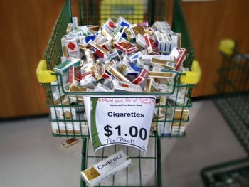 cost pack Salem cigarettes Salem