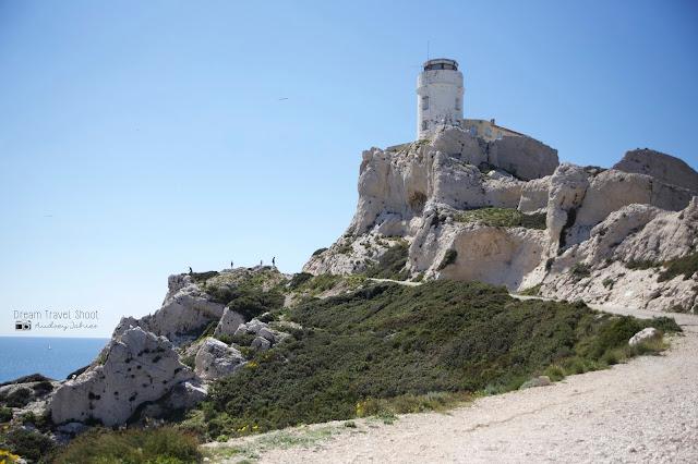 Iles frioul Marseille provence