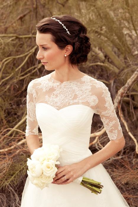 Outdoor Vintage Wedding Dress