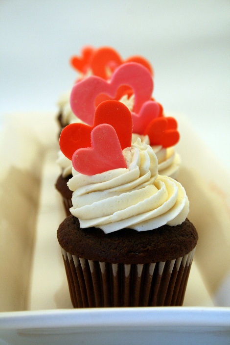 happy valentines day cupcakes