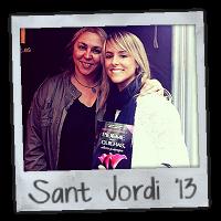 Sant Jordi 2013 con Megan Maxwell =D