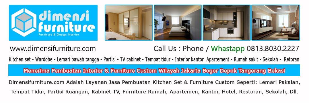 Jasa Pembuatan Furniture Custom, Kitchen Set, Wardrobe Di Bogor