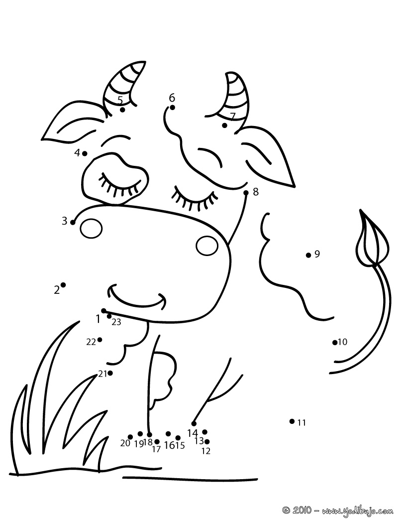worksheets for coloring farm animals