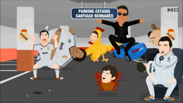 Real Madrid versi Harlem Shake