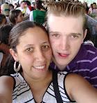 Eu e meu noivo lindo