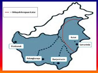 Peta Wilayah Kerajaan Hindu-Budha dan Islam di Indonesia