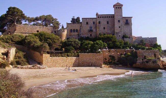 Espectacular cala en la costa de Tarragona