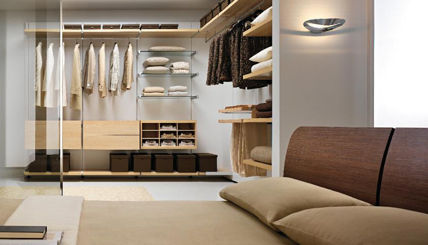 Domy luxusowe inspiracje luksusowe garderoby - Camere da letto con armadio ad angolo ...