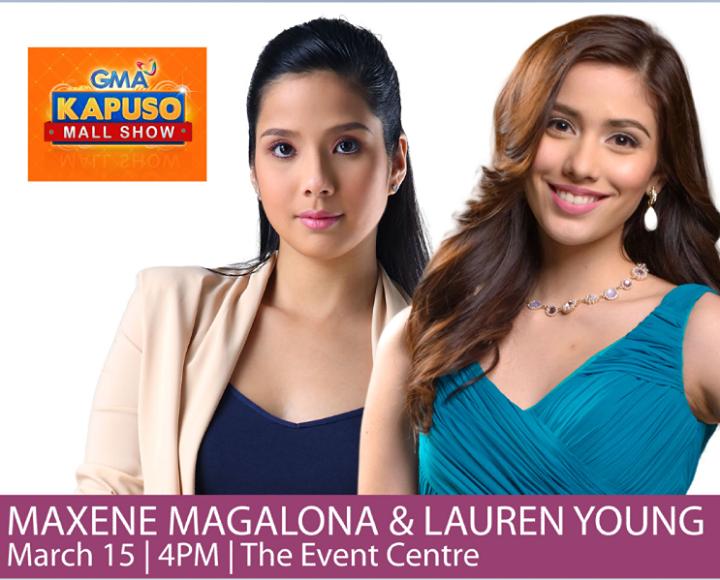 Maxene_Magalona_Lauren_Young_SM_City_Cebu