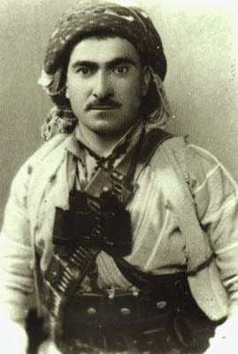 Mustafa Barzani, pemimpin suku kurdi
