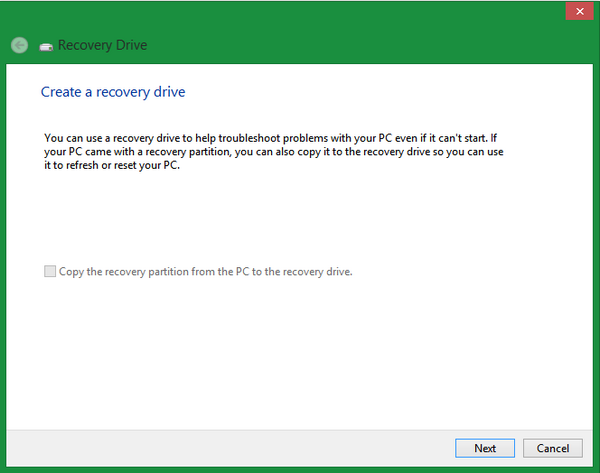 create-recovery-drive