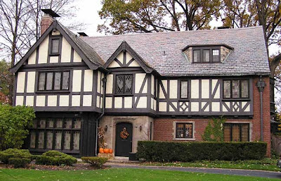 The copper coconut top 10 american house styles 3 for Tudor colonial style home