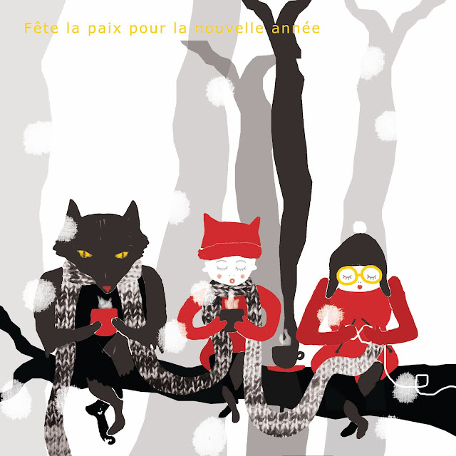 illustration le petit chaperon rouge