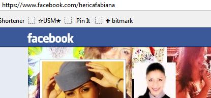 Perfil no Facebook