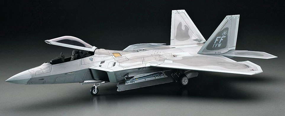 Scale Model News Last F 22 Raptor Under Construction But