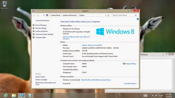 Download Windows 8.1 Pro 64 bit ISO Update Jan 2016 Free | Windows 8.1 Pro ISO