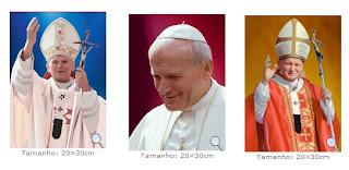 Brinde Grátis Pôster Papa João Paulo II